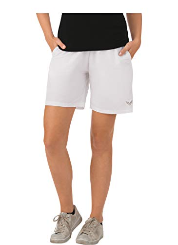 Trigema Damen Sport-Shorts Sportifs, Blanc (Weiß (weiß 001), 56 (Taille Fabricant: XXXL) Femme
