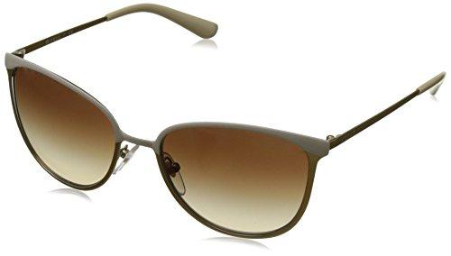 Vogue 0Vo4002S Gafas de sol, Matte Beige/Brushed Gold, 55 para Mujer