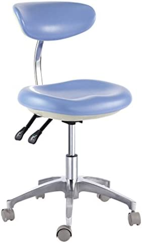 Charlotte Mall Max 49% OFF Deluxe Dental Mobile Chair Surgical with Stool Doctor's Backrest