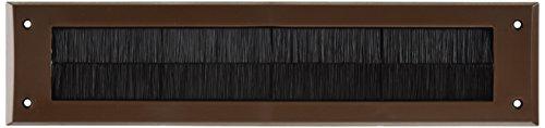 Bulk Hardware bh05981Buchstabe Briefkasten Bürste Zugluftstopper, 343x 80mm (13,1/5,1cm X 3.1/20,3cm)–Braun