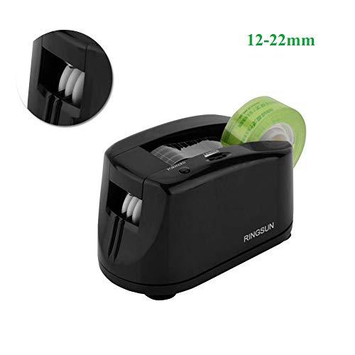 VBESTLIFE Dispensador automático de cinta, Máquina automática de corte continuo Dispensador de cinta Embalaje eléctrico, 12-22 mm