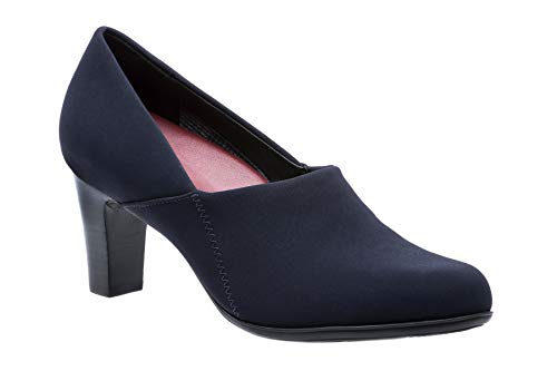 Viera Neutral - Women's Dress Shoes in Navy Size: 6.5