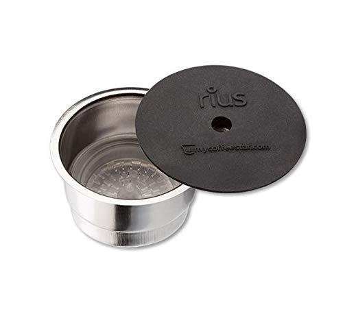 mycoffeestar RIUS: Wiederbefüllbare Kaffeekapsel für TCHIBO CAFISSIMO® und CAFFITALY® Maschinen
