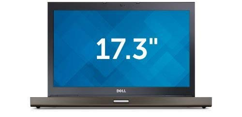 Dell Precision M6800 17.3in Laptop Business Notebook (Intel Core i7-4810MQ, 16GB Ram, 1TB HDD, Nvidia Quadro K4100M, HDMI, DVD-RW, WiFi, Express Card) Win 10 (Renewed)