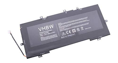 vhbw Akku Ersatz für HP VR03045XL-PL, VR03X, VR03XL für Notebook (3900mAh, 11,4V, Li-Polymer, schwarz)