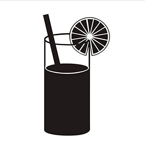 Muursticker DIY zwart gedrukt sap drinken keuken muursticker keuken sticker wooncultuur restaurant decoratie hotel behang kunst