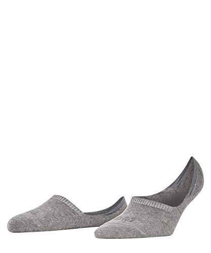 FALKE Damen Füßlinge Step - Baumwollmischung, 1 Paar, Grau (Grey Mix 3399), Größe: 39-40