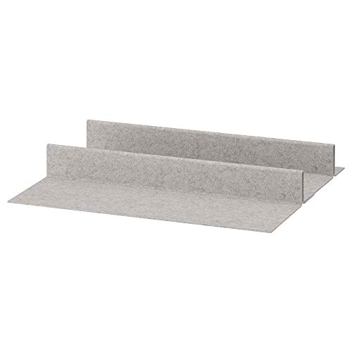 KOMPLEMENT zapatero para bandeja extraíble 75x58 cm gris claro