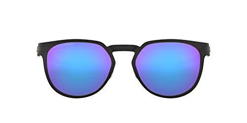 Oakley 0OO4137 Gafas de sol, Satin Black, 55 Unisex