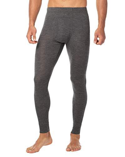 LAPASA Pantalón Térmico para Hombre de Lana Merino M31 (S