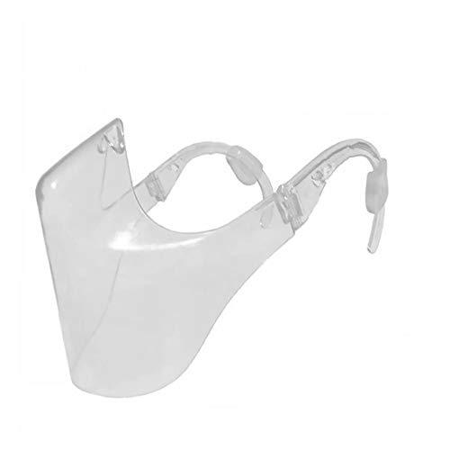 NaisiCore Pista Transparente Escudo Escudo Niebla Prueba Clara Diseñado Comfort Estilo Moda Cubierta para la Salud del Adulto Equipamiento Bicicletas