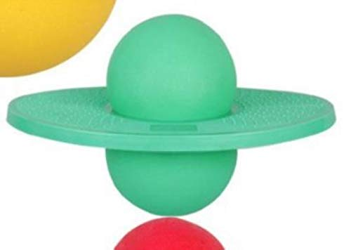 ATP Verdickung Springball Kinder explosionssicher Spielzeug Hüpfball Fitness Heimtraining Grüne Pumpe