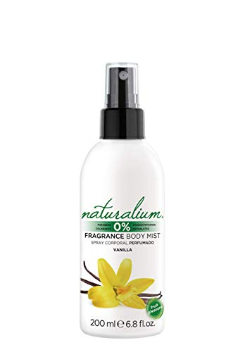 Naturalium Spray Corporal Vainilla - Body Mist Perfumado Refrescante, Sin Parabenos, Sin Colorantes, 200 ml