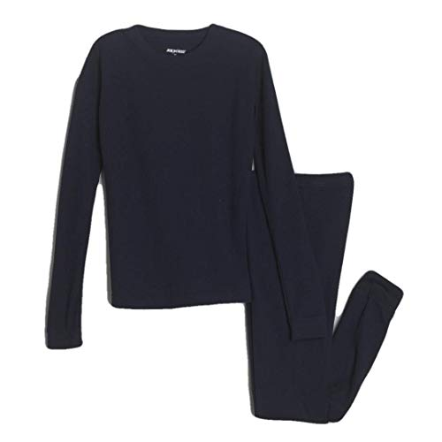 Joe Boxer Boys 2 Piece Blue Underwear Thermal Pants & Long Sleeve Shirt, Size 4
