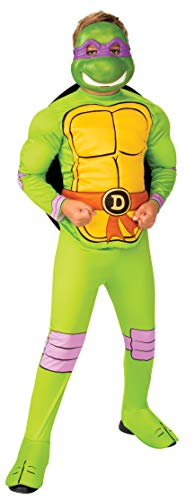 Rubie's Boy's Nickelodeon Retro Classic Teenage Mutant Ninja Turtles Donatello Costume, Medium