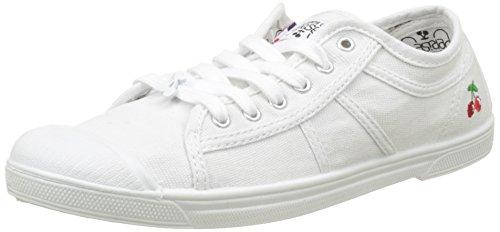 Le Temps des Cerises Basic 02, Baskets Femme, Blanc (white White), 37 EU