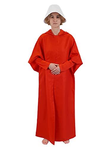 Costume Rouge de Martha pour Fans de La Servante écarlate   Déguisement Defred   Taille: M