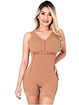 Sonryse PS053 Post Surgery After Liposuction Compression Garments Fajas Colombianas Mocha M