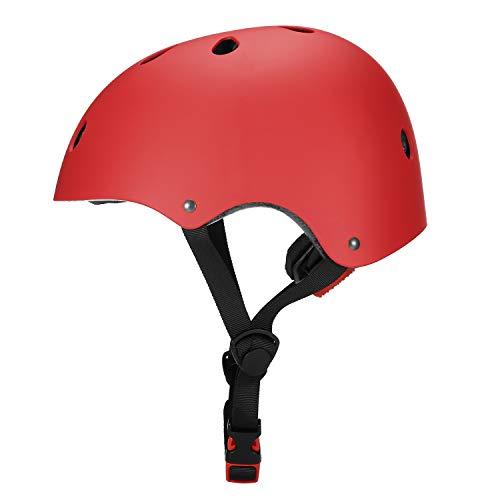 Lixada Casco de Bicicleta Casco de Seguridad Multideportivo para Niños/Adolescentes/Adultos Patinaje en...