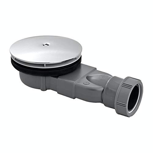 Wirquin Slim Extra Flach Low Profile Dusche Trap wasserloses Membran für 90mm Dia Duschwannen