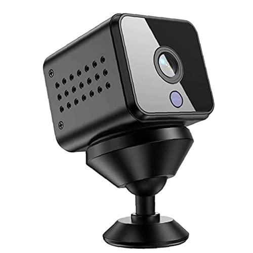 Tuimiyisou Cámara espía ocultado HD cámara inalámbrica Wi-Fi Batería de Larga duración en Tiempo Real Mini cámara Convert Interiores Apartamento Oficina Negro