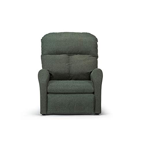 Poltrona Relax   Poppea   Verde Scuro   Made In Italy