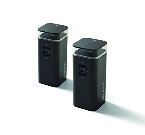 iRobot Originalteile - Dual Mode Virtual Wall Barriere (x2) - 2x 2 AA Batterien - Kompatibel mit Roomba 600/700/800/900/e-/i-Serie + Braava m-Serie