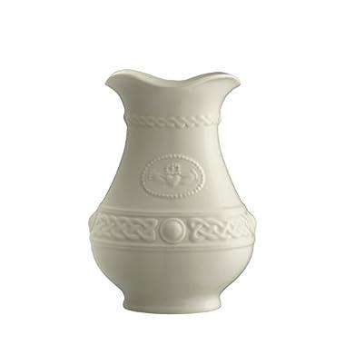 Belleek Pottery Claddagh Vase, 8