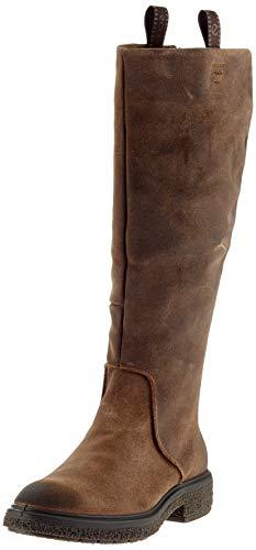 ECCO Damen CREPETRAY HYBRID L Hohe Stiefel, Braun (Cocoa Brown 2482), 38 EU