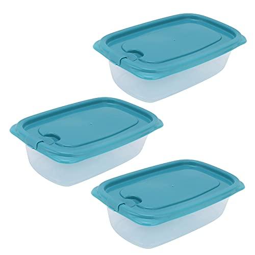 Contenitore per alimenti, scatola per il pranzo rettangolare multifunzione portatile trasparente per mantenere la freschezza