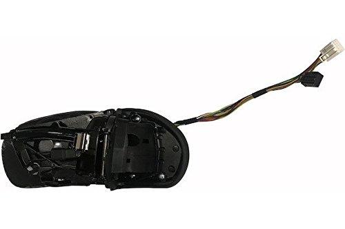 MAX mmb201-r Retrovisor eléctrico sin Cazoletas, Espejo Asférico cromado térmico