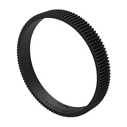 SMALLRIG Rotazione a 360° Messa a Fuoco Continua Anello Dentata Φ81-Φ83mm per Follow Focus, Compatibile con Fotocamere DSLR Videocamere - 3296