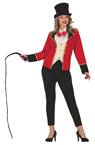 FIESTAS GUIRCA Disfraz de Mujer domadora presentadora de Circo