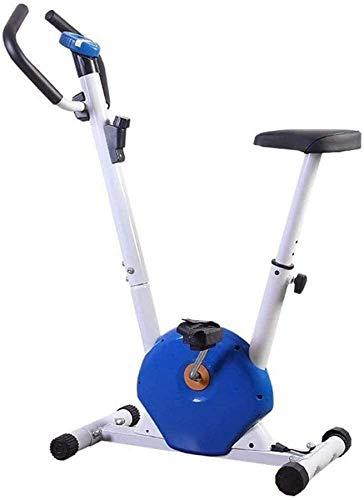 Wghz Bicicleta estática Plegable 2 en 1, Bicicleta estática para Interiores con Resistencia magnética Ajustable Bicicleta giratoria para el hogar Control magnético Ultra silencioso Pedal deportiv