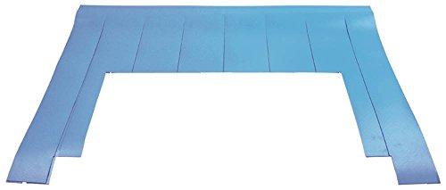 Krefft Vorhang für Spülmaschine für Waschzone/Nachspülung Breite 660mm Höhe 485mm Spültechnik