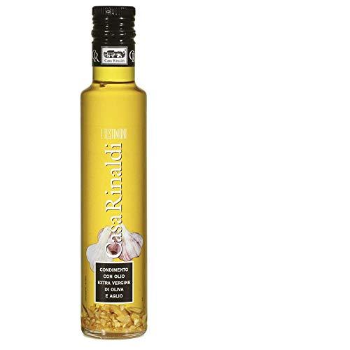 Casa Rinaldi Natives Olivenöl extra mit Knoblauch, 250ml