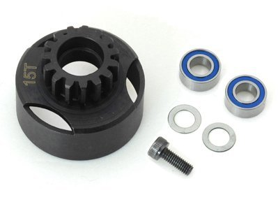 15T super vented racing Clutch Bell w/Bearings RC Parts