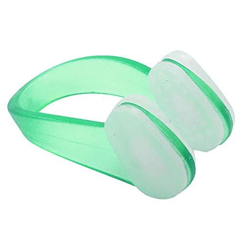 Bels Pinza Nariz NatacióN, Clip De La Nariz Silicona Protector Nariz Clips para Adultos Y NiñOs Buceadores Y Principiantes Gratuitos Green