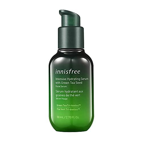 innisfree Green Tea Seed Intensive Hydrating Serum, Face Treatment, New 2021, 6 oz.