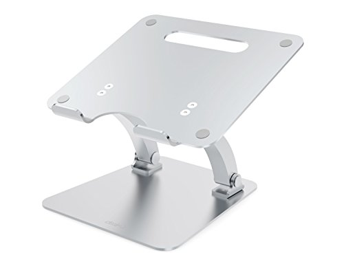 Desire2 Laptop Computer Riser Desk Stand - View My Screen at Home Supreme Riser - Adjustable Riser Desk Stand for Macbooks, Notebooks and Laptops