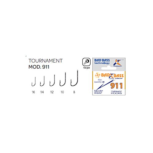 Bad Bass D2500144, Ami Tournament BS 911 Unisex Adulto, Multicolore, Size 16