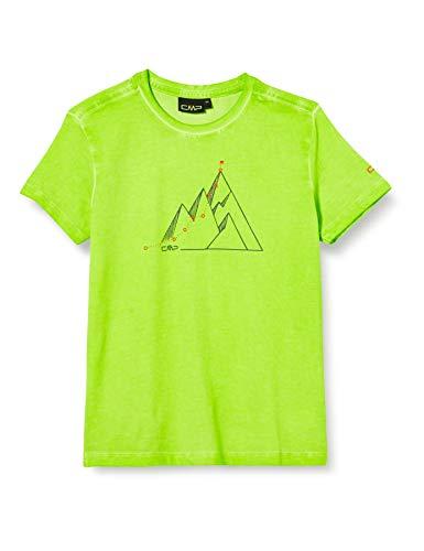 CMP Jungen Elastisches T-Shirt Dyed Jersey, Energy, 110