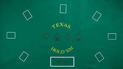 Brybelly Texas Hold 'Em Felt Layout