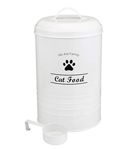 Contenedor de comida para perros – Pet Good Dog Food Recipiente para almacenamiento de alimentos, capacidad de 1,8 kg – Cuchara incluida