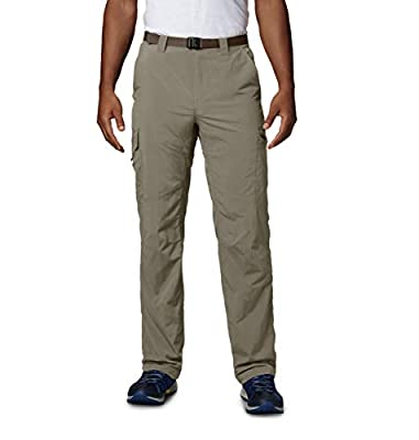 Columbia Men's Men's Silver Ridge Cargo Pant , Tusk, 34x32
