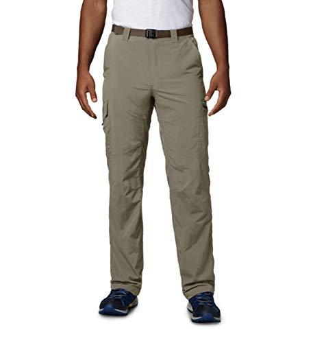 Columbia Cargo Wanderhose für Herren, Silver Ridge Cargo Pant, Nylon, beige (Tusk), Größe: 28, AM8007