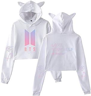 BTS Round Neck Hoodie & Sweatshirt For Women