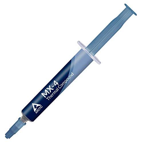 ARCTIC MX-4 (4 Gramm) - Qualitäts-Wärmeleitpaste für alle Cpu-Kühler, extrem hohe Wärmeleitfähigkeit, niedriger thermischer Widerstand, sichere Anwendung