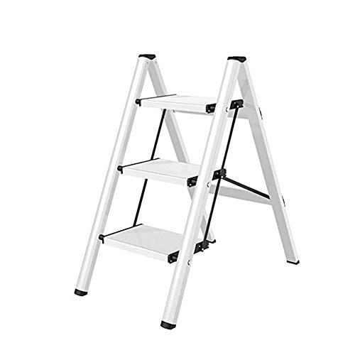 ZXMDP 2/3/4-traad trapladder, 150 kg, draagbaar, volledig pedaal, kleine ladder, voor het huishouden, bloembak, opbergen