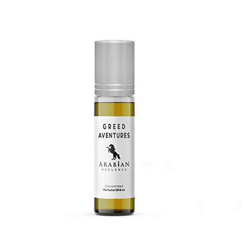 Aceite de perfume inspirado en KREED en una botella enrollable. Aceite de larga duración. Opulencia arábiga.